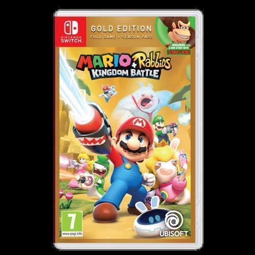 Image of Mario Rabbids Kingdom Battle Gold Edition, nintendo switch (3307216024521)