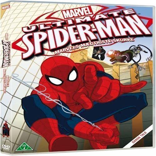 Image of Ultimate SpiderMan 2: Marvels Mægtigste Skurke - DVD (8717418385392)