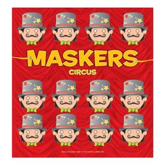 Image of Makebog, Klip ud og farvelæg, cirkus