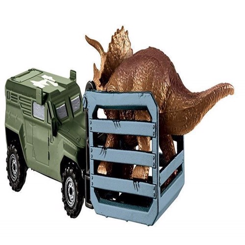 Image of   Bil, Match Box - Jurassic World - Tricera-Trapper