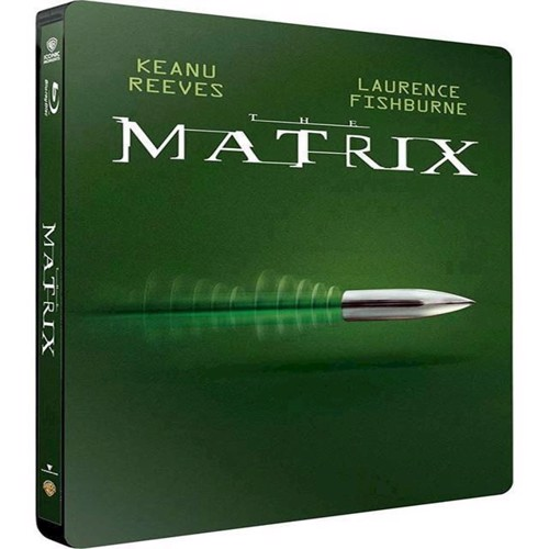 Image of Matrix, The Limited Steelbook Blu-Ray (7340112744175)