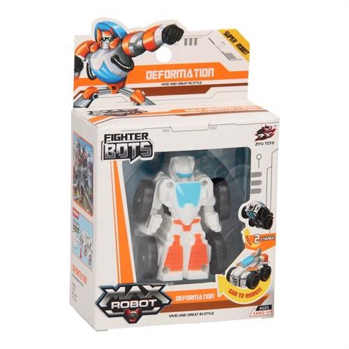 Image of Max Robot Transform Car - White (3800966029711)