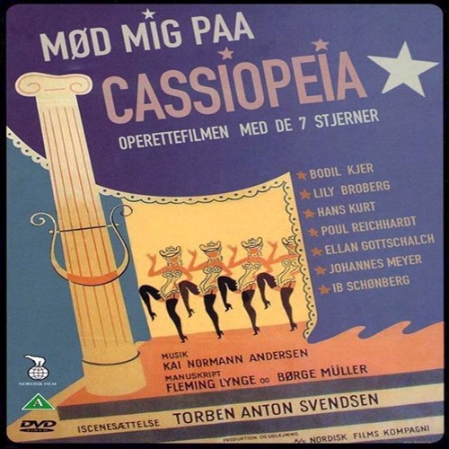 Image of Mød mig paa Cassiopeia DVD (5708758240345)