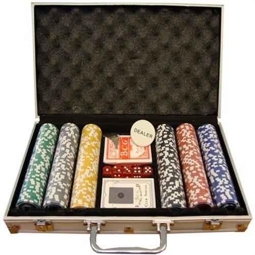 Image of MegaLeg Pokerchips startpakke Prof (5712548304520)