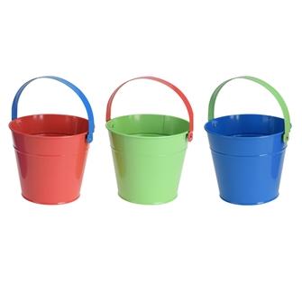 Image of Metal garden bucket (8719987132988)