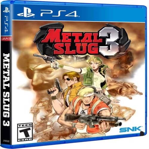 Image of Metal Slug 3 (Import)- PS4 (0819976022929)