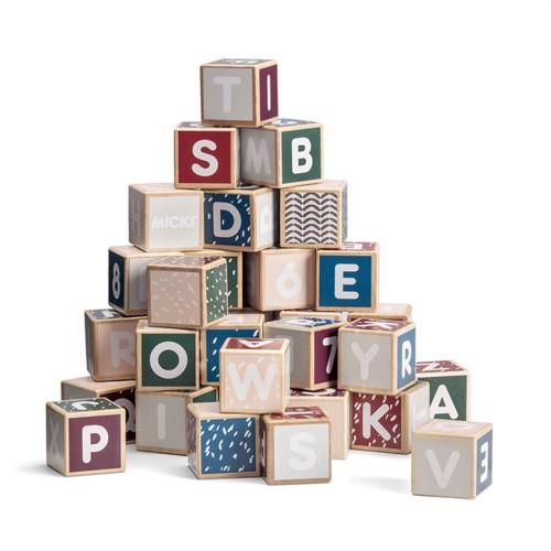 Image of Micki sanse alfabetklodser i træ