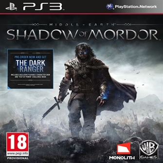 Image of Middle-earth: Shadow of Mordor - PS3 (5051895267073)