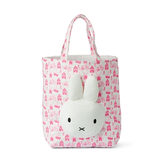 Image of Miffy shopper pink