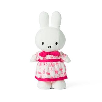 Image of Miffy bamse med kjole 24 cm (8719066004342)