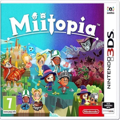 Image of Miitopia - Nintendo 3DS (0045496475390)
