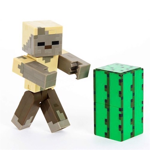 Image of Minecraft - Basis Action Figur - Zombie Husk (0887961657814)