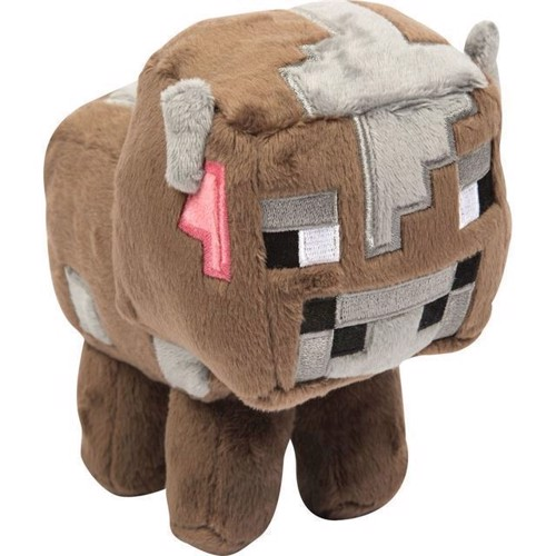 Image of Minecraft - Lille baby ko, bamse (0889343052316)