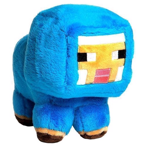 Image of Minecraft - lille baby får, bamse (0889343052293)