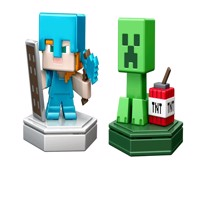 Minecraft - Boost Mini Figure 2-Pack - Alex & Creeper (GKT44)