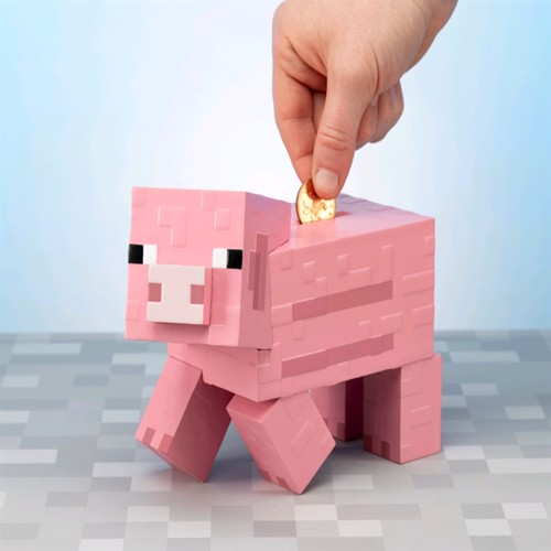Image of Minecraft Pig Money Bank BDP (PP6590MCF) (5055964742249)