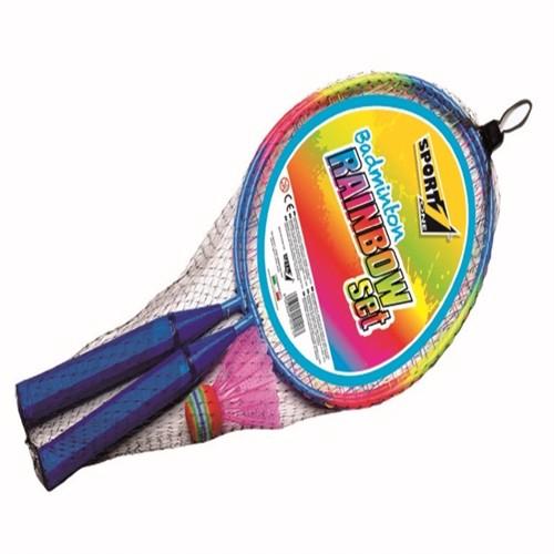 Image of Mini Badminton Sæt, rainbow (8003029101224)