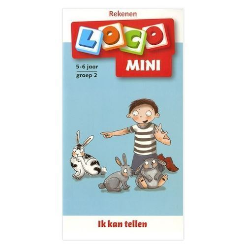Image of Mini Loco jeg kan tælle gruppe 2