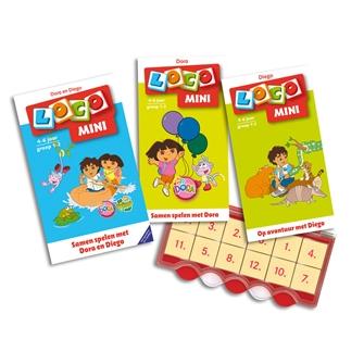 Image of Mini Loco Dora og Diego startpakke