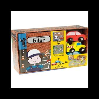Image of Min Lille Bog Om - Biler (9788778845924)