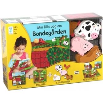 Image of Min Lille Bog Om - Bondegården (9788778845917)