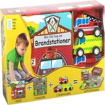 Image of Min Lille Bog Om - Brandstationer (9788778845320)