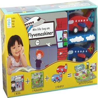 Image of Min Lille Bog Om - Flyvemaskiner (9788778846679)