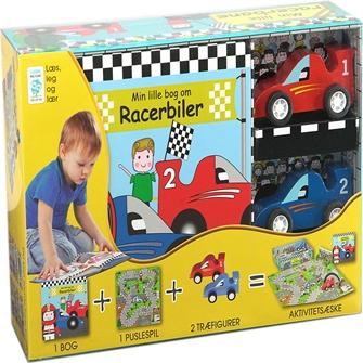 Image of Min Lille Bog Om - Racerbanen (9788778846686)