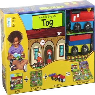 Image of Min Lille Bog Om - Togstationen (9788778845337)