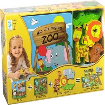 Image of Min Lille Bog Om - Zoo (9788778845900)