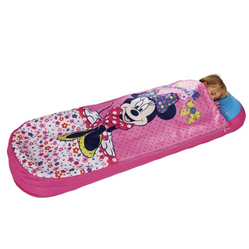 Image of minnie mouse junior readybed gæsteseng med sovepose
