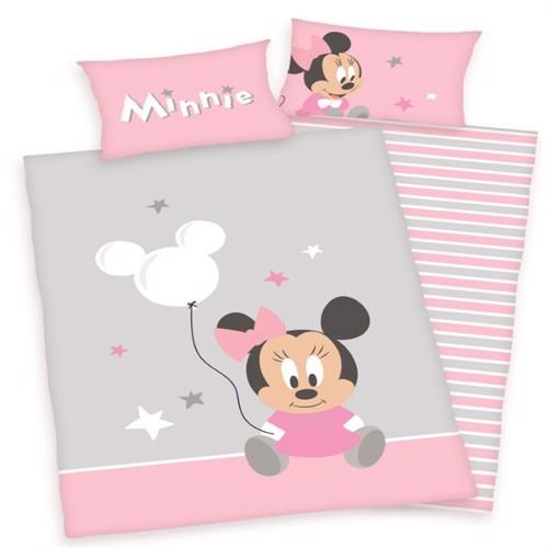 Image of Minnie Mouse Junior Sengetøj. 100X135Cm.