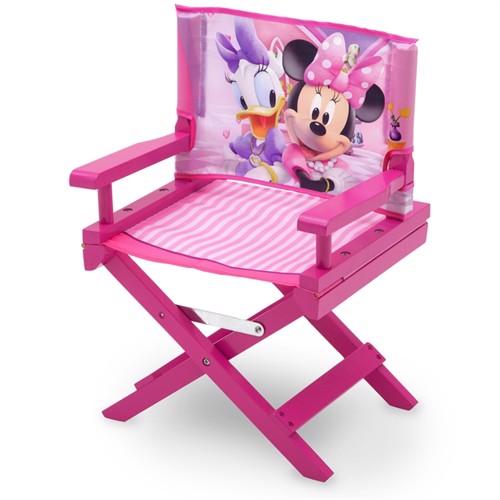 Image of Minnie Mouse Og Andersine Træ Instruktør Stol