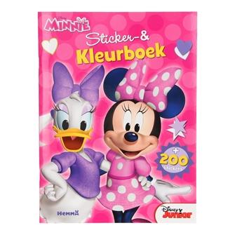 Image of Male og Klistermærkebog, Minnie Mouse