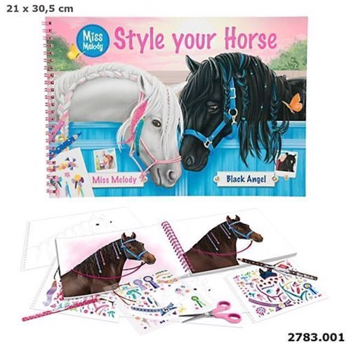Image of   Miss Melody - Style Your Horse Malebog