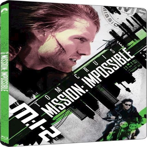 Image of Mission Impossible 2 Steelbook Blu-Ray (7340112745295)
