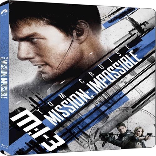 Image of Mission Impossible 3 Steelbook Blu-Ray (7340112745325)