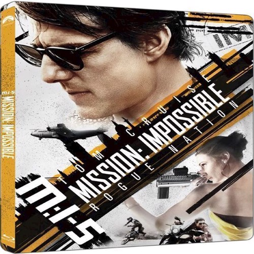 Image of Mission Impossible 5 Rogue Nation Steelbook Blu-Ray (7340112745387)