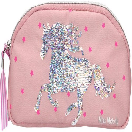 Image of Miss Melody - Penalhus Med Pailletter - Pink