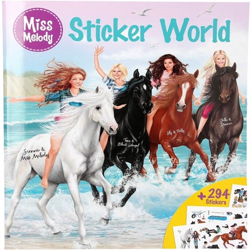 Image of Miss Melody sticker world (4010070444099)