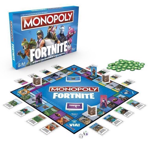 Image of Monopoly Fortnite Edition