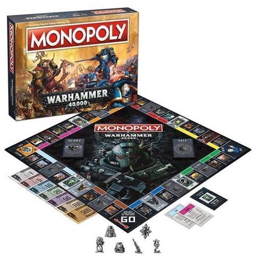 Image of Monopoly - Warhammer 40K (English) (Win35484)