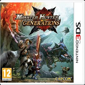 Image of Monster Hunter: Generations (0045496473228)