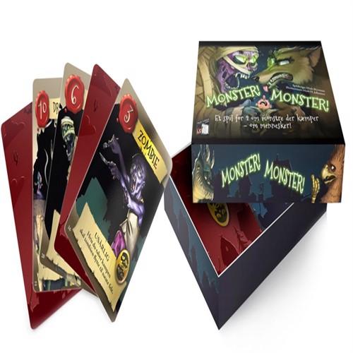 Monster monster brætspil, dk