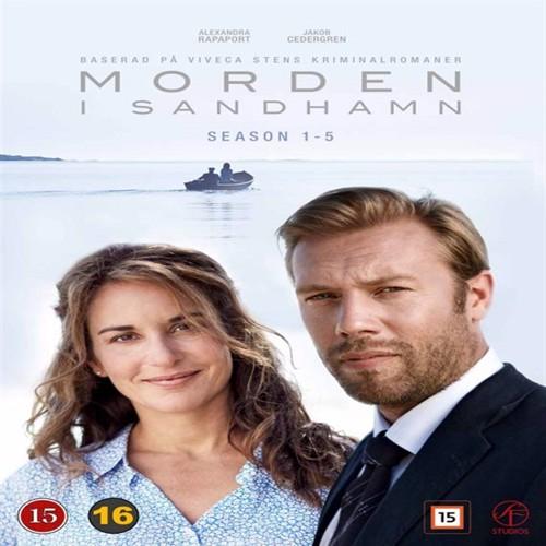 Image of   Mord I Skærgården / Morden I Sandhamn - Sæson 1-5 - DVD