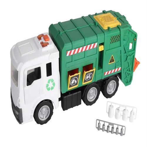 Image of Motorshop kæmpe skraldebil (4893808480565)