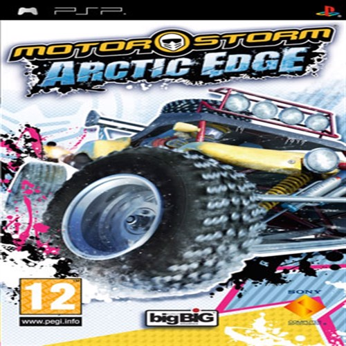 Image of Motor Storm Arctic Edge Psp