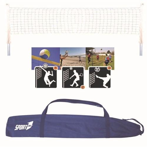 Image of Multi Sport Sæt Pro Volley Beach Tennis Badminton Tennis Fodbold