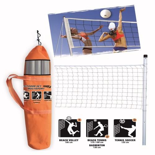 Image of Multi Sportsæt Volley Beach Tennis Badminton Tennis Fodbold
