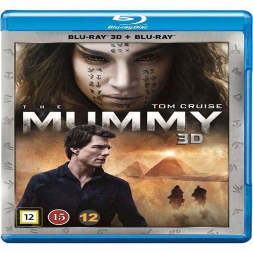 Image of Mummy, The Tom Cruise 3D Blu-ray (5053083129866)